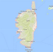 Zone d'intervention ramonage en Corse
